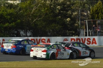 Stefano D'Aste, BMW 320 TC, Wiechers-Sport and Tom Boardman, SEAT Leon WTCC,  Special Tuning Racing
