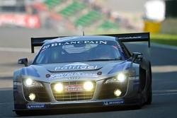 #40 Sainteloc Racing Audi R8 LMS ultra: Gregory Guilvert, Dino Lunardi, Filipe Albuquerque