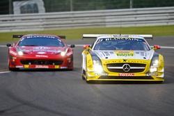 #19 Black Falcon Mercedes-Benz SLS AMG GT3: Oliver Morley, Riccardo Brutschin,Stephan Rosler, Manuel Metzger