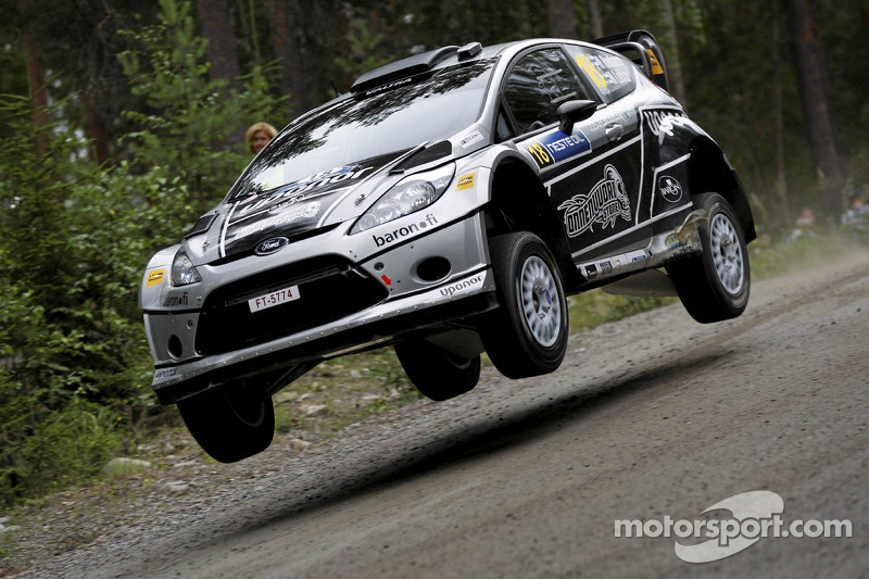 Matti Rantanen and Mikko Lukka, Ford Fiesta RS WRC