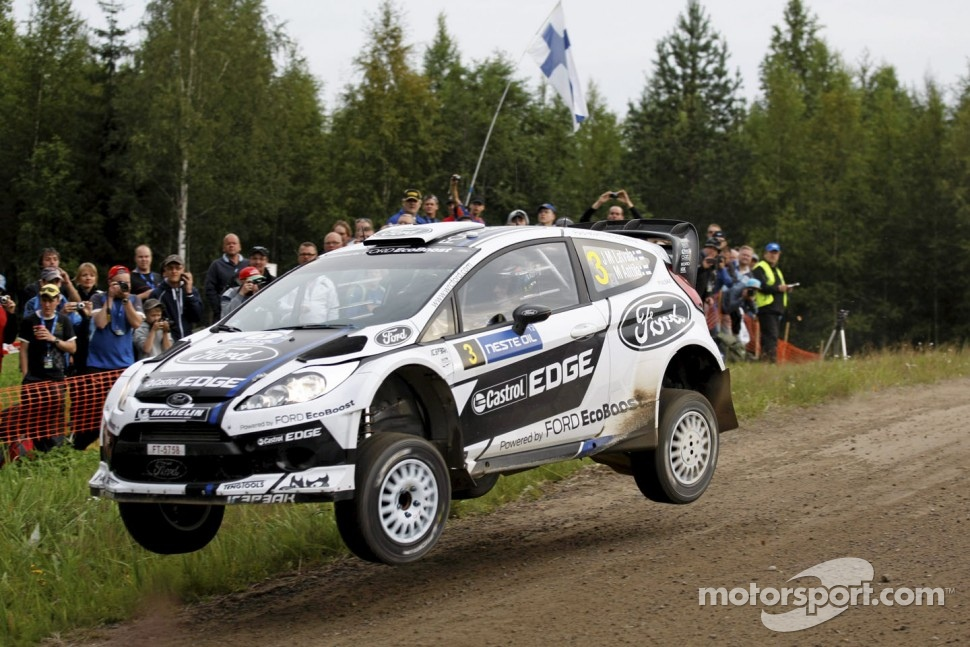 Jari-Matti Latvala, Ford Fiesta RS WRC, Ford World Rally Team