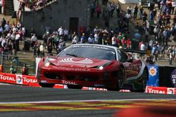 #50 AF Corse Ferrari 458 Italia: Jack Gerber, Marco Cioci, Enzo Ide, Raffaele Giammaria