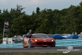 #56 AF-Waltrip Ferrari 458: Rui Aguas, Robert Kauffman