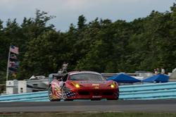 #56 AF-Waltrip Ferrari 458: Rui Aguas, Robert Kauffman