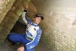 Petter Solberg, Ford World Rally Team visits the Trier Amphitheather