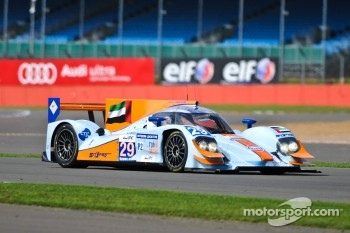 #29 Gulf Racing Middle East Lola B12/80 Nissan: Fabien Giroix, Keiko Ihara, Jean-Denis Deletraz