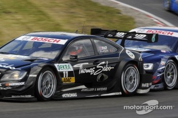 Bruno Spengler, BMW Team Schnitzer BMW M3 DTM and Mattias Ekström, ABT Sportsline Audi A5 DTM