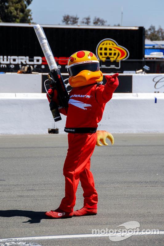 Hawk, the Firestone Tires Mascot