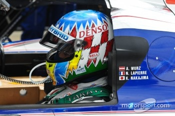 Alexander Wurz in deep thought
