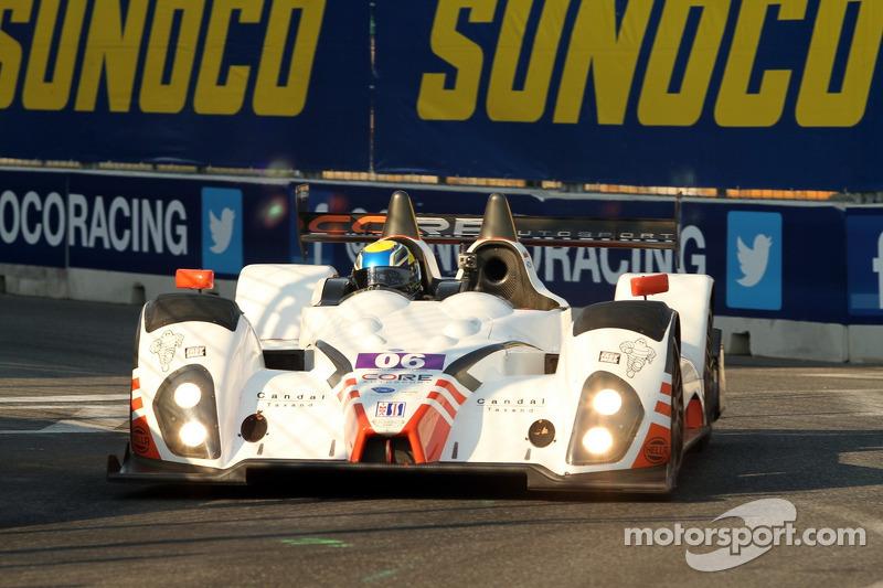 #06 CORE Autosport Oreca FLM09 Chevrolet: Alex Popow, Ryan Dalziel