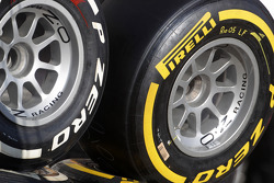 Pirelli Tyres during red flag