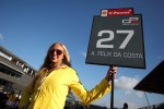 Grid girl of  Antonio Felix Da Costa