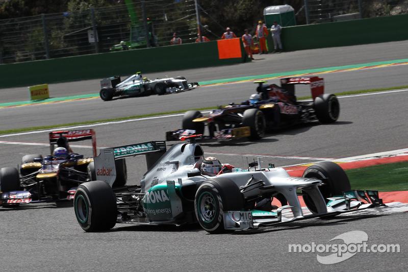 Michael Schumacher, Mercedes AMG Petronas