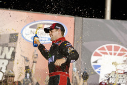 Victory lane: race winner Ricky Stenhouse Jr.