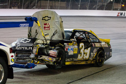 Trouble for Ryan Newman, Stewart-Haas Racing Chevrolet