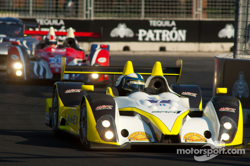 #7 Merchant Services Racing Oreca FLM09: Lucas Downs, Matt Downs
