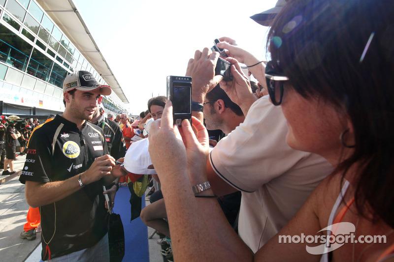 Jérôme d'Ambrosio, Lotus F1 Team