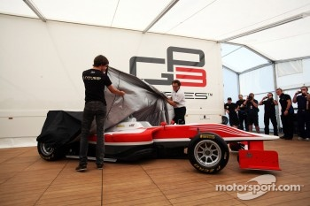 Esteban Gutierrez, Lotus GP unveils the new GP3 car