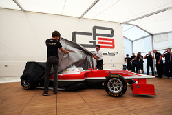 Esteban Gutierrez, Lotus GP unveils the new GP3 car