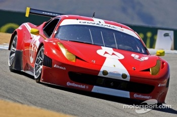 #63 Scuderia Corsa Ferrari 458: Alessandro Balzan, Olivier Beretta