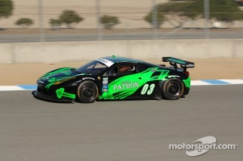 #03 Extreme Speed Motorsports Tequila Patron Ferrari 458: Mike Hedlund,Johannes van Overbeek