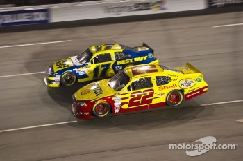 Sam Hornish Jr. and Matt Kenseth