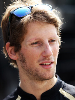 Romain Grosjean, Lotus F1 Team, serving a one race ban