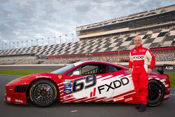 #69 AIM Autosport Team FXDD Racing with Ferrari Ferrari 458: Emil Assentato