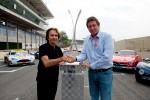 Emerson Fittipaldi, local promoter for the 6 Hours of Sao Paulo with Gerard Neveu, FIA WEC CEO