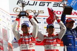 Second place Masataka Yanagida, Ronnie Quintarelli