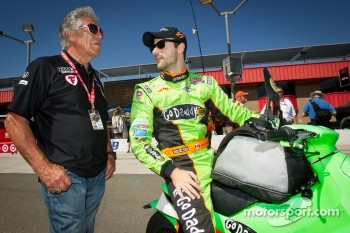 Mario Andretti and James Hinchcliffe, Andretti Autosport Chevrolet