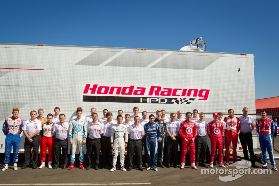 Honda Racing photoshoot