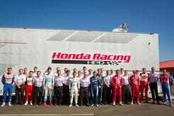 Honda Racing photoshoot