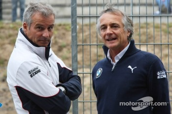 Jens Marquardt, BMW Motorsport Director and Charly Lamm, Teammanager BMW Team Schnitzer