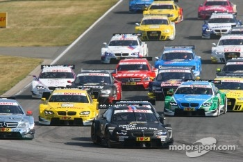 Bruno Spengler, BMW Team Schnitzer BMW M3 DTM leads the start