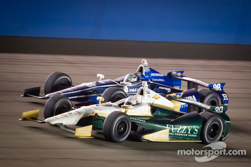 Ed Carpenter, Ed Carpenter Racing Chevrolet, Alex Tagliani, Team Barracuda - BHA Honda