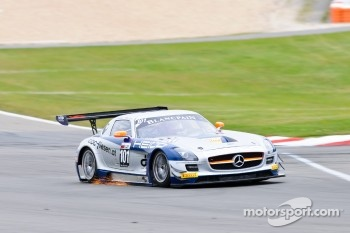 Sparky! - #101 Heico Gravity-Charouz Team Mercedes-Benz SLS AMG GT3: Dominik Baumann, Maximilian Buhk