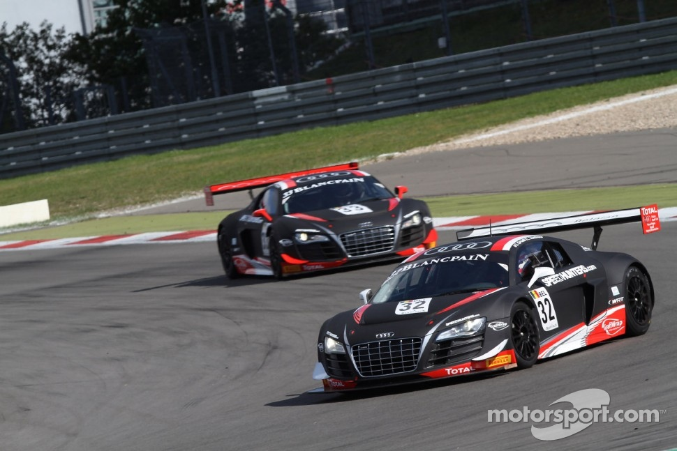 #32 Belgian Audi Club Team WRT Audi R8 LMS ultra: Stphane Ortelli, Laurens Vanthoor