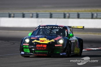 #8 Haribo Racing Team Porsche 997 GT3 R: Richard Westbrook, Mike Stursberg, Hans Guido Riegel