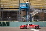 #8 Ferrari of Ft Lauderdale 458TP takes the checkered flag