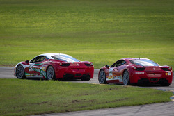#64 Ferrari of Ft Lauderdale 458CS: Frank Fusillo, #141 Ferrari of San Francisco 458CS: John Baker