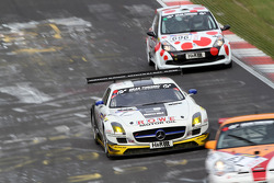 #7 ROWE Racing Mercedes SLS AMG GT3: Maro Engel, Jan Seyffarth, Roland Rehfeld