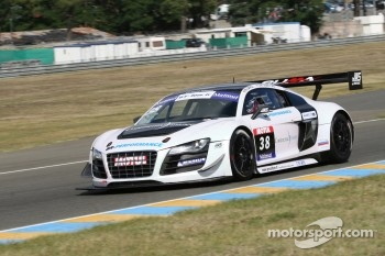 #38 JWS Racing by Saintéloc Audi R8 LMS Ultra: Jean-Marc Quintois; William David