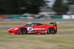 #20 Sofrev ASP Ferrari 458 Italia: Jean-Luc Beaubelique; Ludovic Badey
