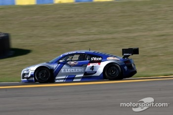 #4 Saintéloc Racing Audi R8 LMS Ultra: Paul Lamic; Grégory Guilvert