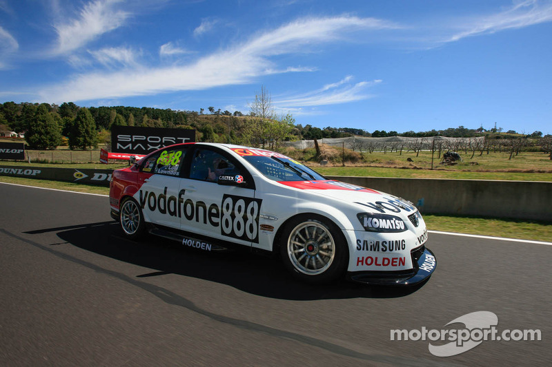The special Bathurst livery for Team Vodafone