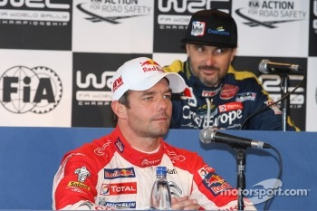 Sbastien Loeb and Yvan Muller
