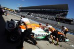 Paul di Resta, Sahara Force India VJM05 in the pits