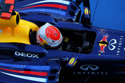Race winner Sebastian Vettel, Red Bull Racing in parc ferme