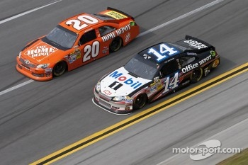 Tony Stewart and Joey Logano